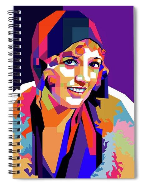 Marion Davies Spiral Notebook