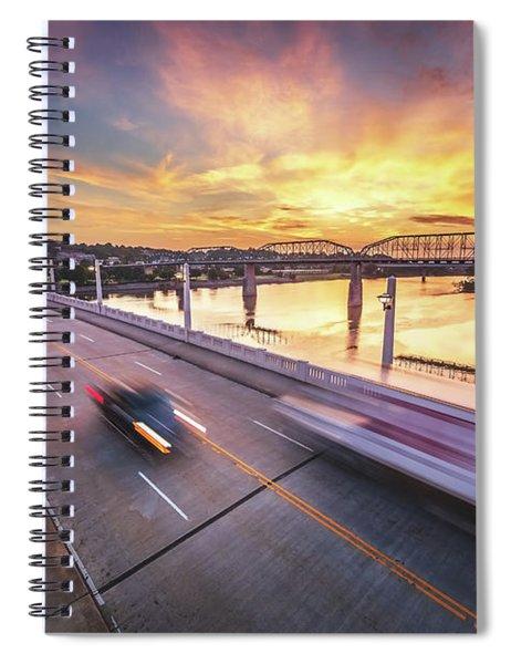 Market Street Commuters Spiral Notebook