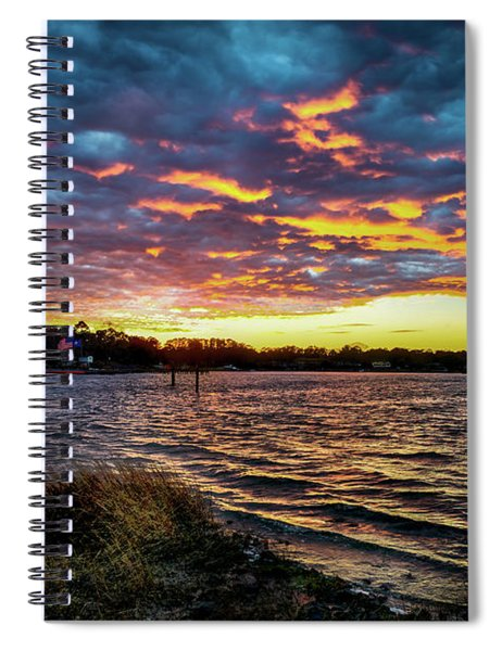 Marmalade Skies Spiral Notebook