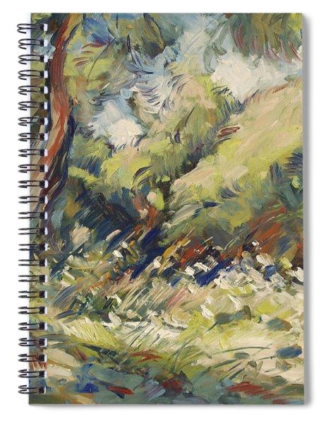 Marmari Olive Orchard Paxos Spiral Notebook