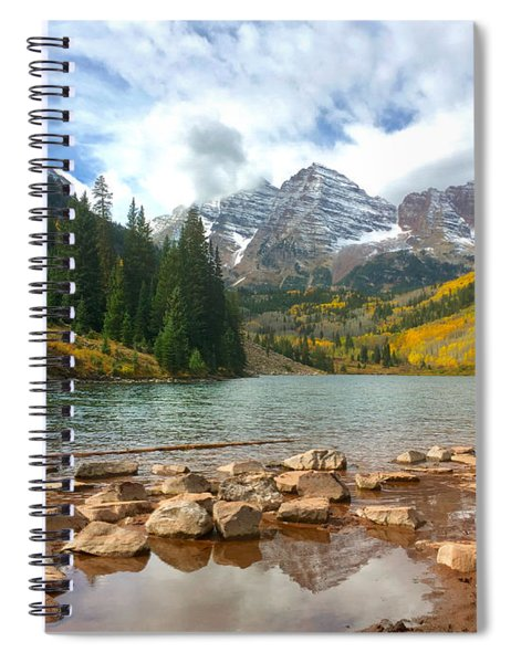 Maroon Bells Spiral Notebook