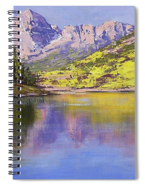 Maroon Bells Reflections Spiral Notebook