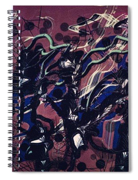 Maroon Spiral Notebook