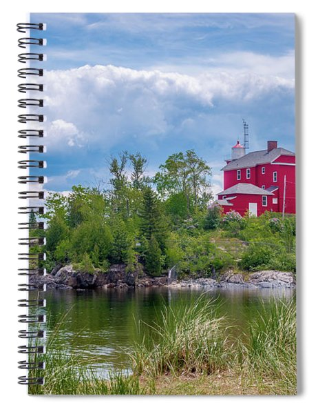 Marquette Harbor Lighthouse Spiral Notebook