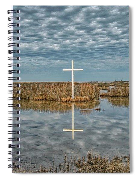 Marsh Cross Spiral Notebook