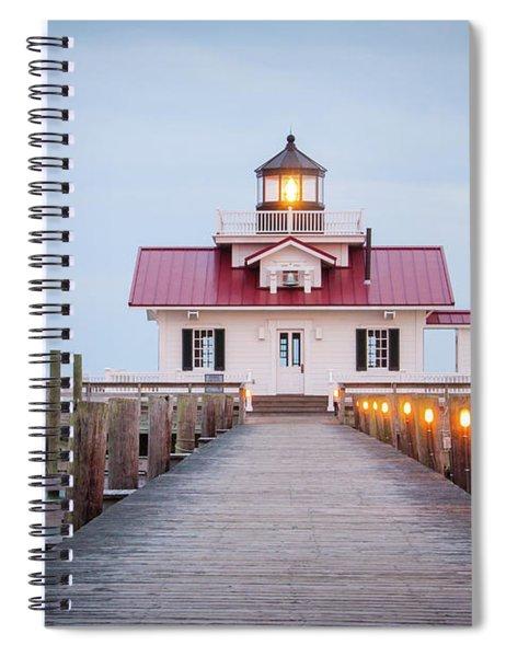 Marsh Light Spiral Notebook