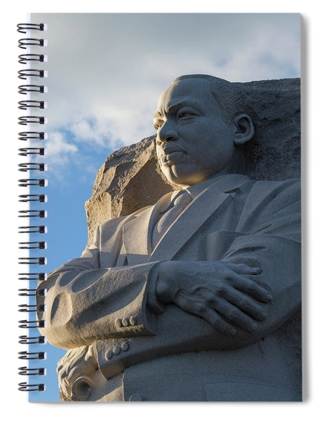 Martin Luther King Jr. Memorial Spiral Notebook