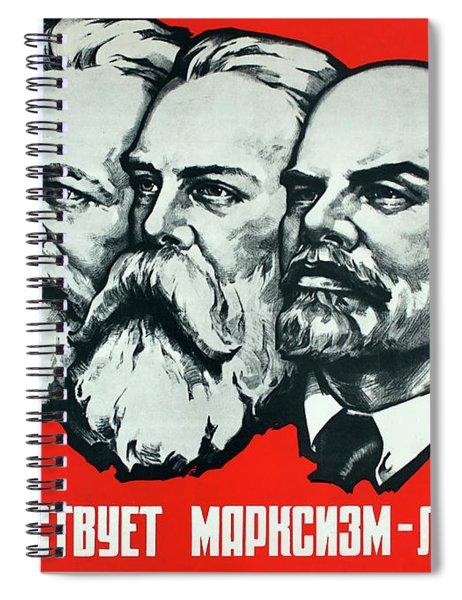 Marx, Engels, Lenin Spiral Notebook