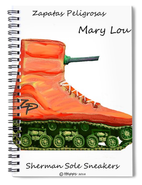 Marylou Spiral Notebook