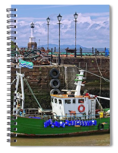 Maryport Harbour, Cumbria, England Spiral Notebook