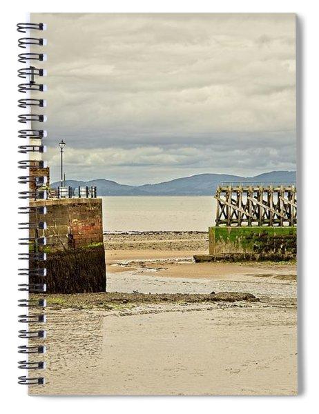 Maryport Lighthouse Cumbria Spiral Notebook