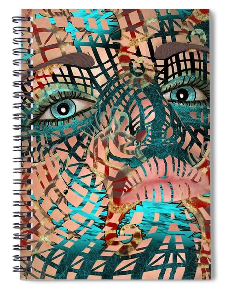 Mask Dreaming Of The Sea Spiral Notebook