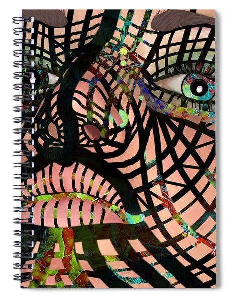 Mask I Am So Much More Than You See Spiral Notebook
