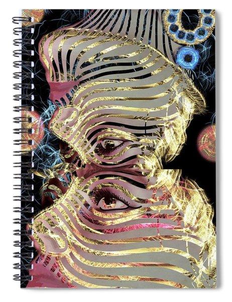 Mask My Minds Eye Spiral Notebook