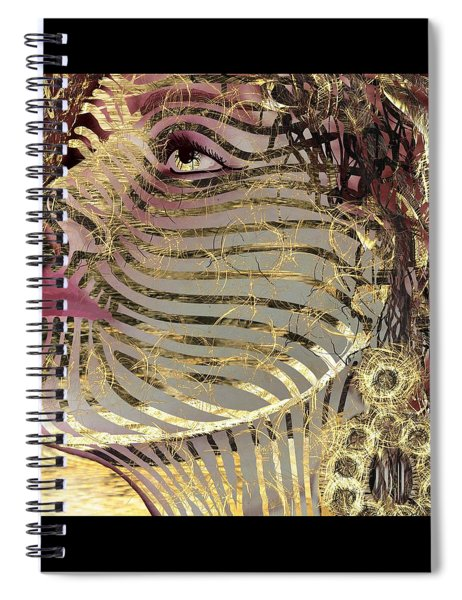 Mask What Hides 2 Spiral Notebook