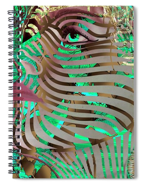 Mask What Hides 3 Spiral Notebook