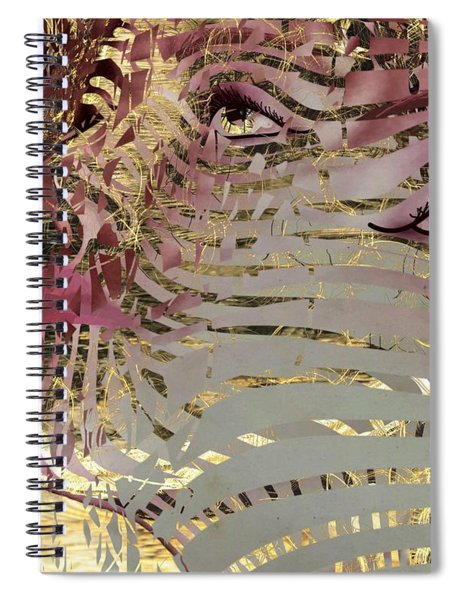 Mask What Hides 4 Spiral Notebook