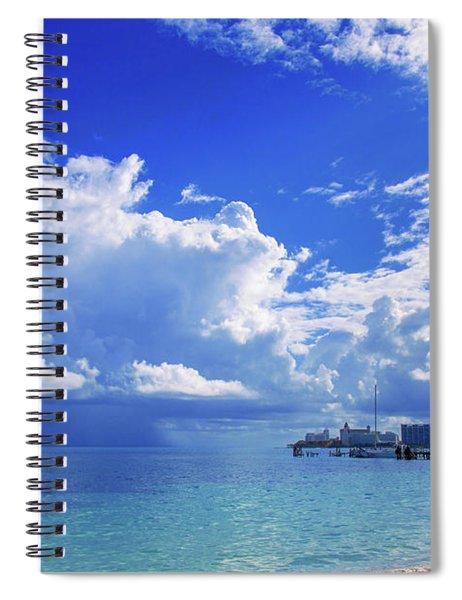 Massive Caribbean Clouds Spiral Notebook