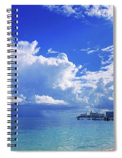 Massive Caribbean Clouds Spiral Notebook