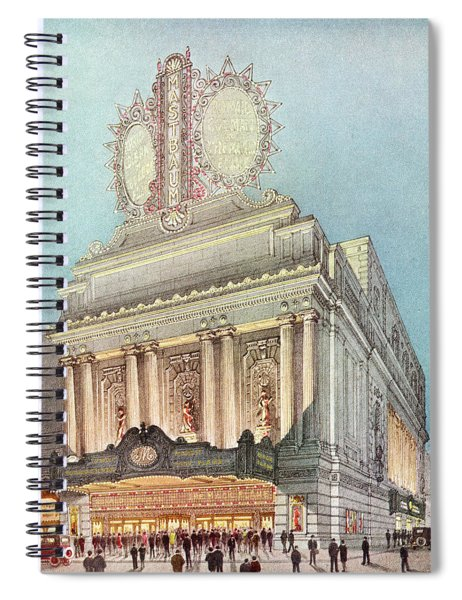 Mastbaum Theatre Spiral Notebook