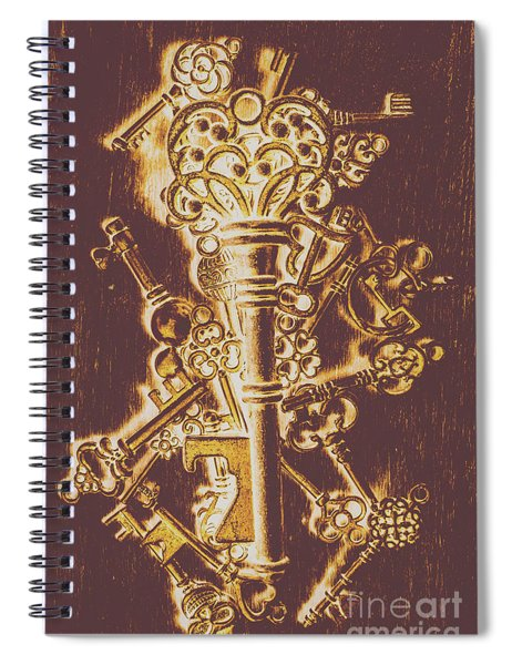 Master Key Spiral Notebook
