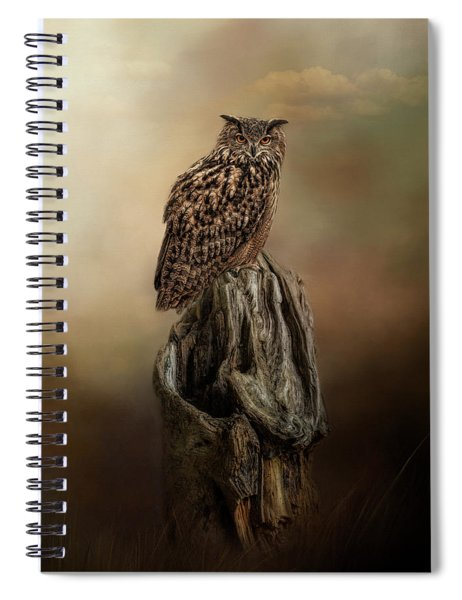 Master Of The Forest Spiral Notebook