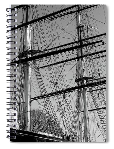 Masts And Rigging Of The Cutty Sark Spiral Notebook