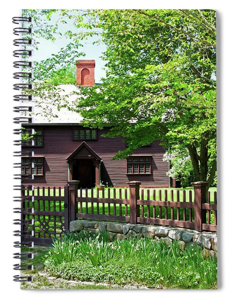 Matthew Whipple House Spiral Notebook