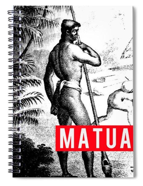 Matua Spiral Notebook by MB Dallocchio