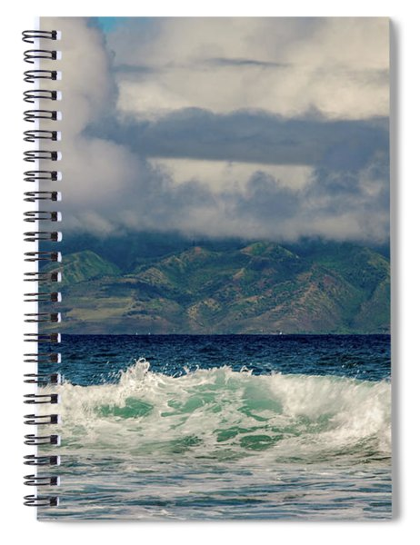 Maui Breakers II Spiral Notebook