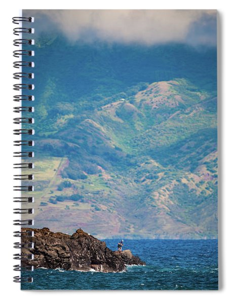 Maui Fisherman Spiral Notebook