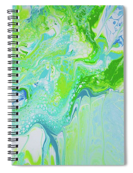 Spiral Notebook featuring the painting Maui - Land And Sea by Lisa Smith