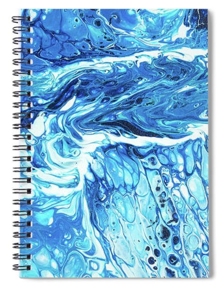 Spiral Notebook featuring the painting Maui Tidepool II by Lisa Smith