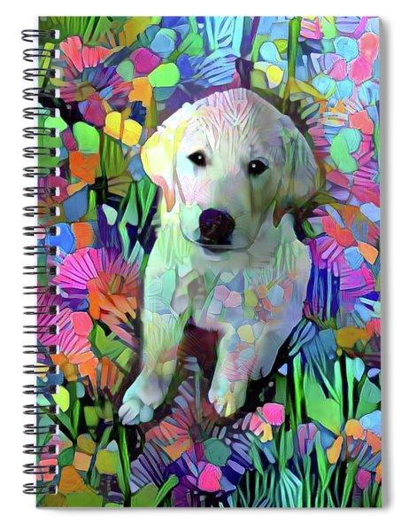 Max In The Garden Spiral Notebook