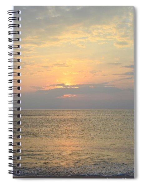 May 21st Nags Head Sunrise Spiral Notebook