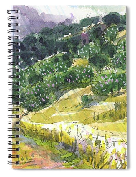 May Rain Spiral Notebook