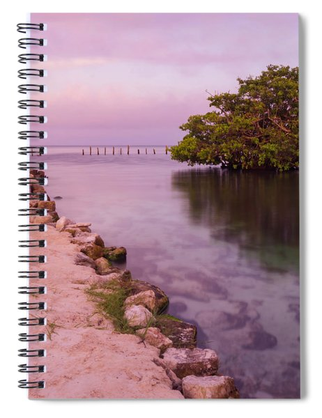 Mayan Sea Reflection 2 Spiral Notebook
