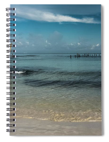 Mayan Shore 3 Spiral Notebook