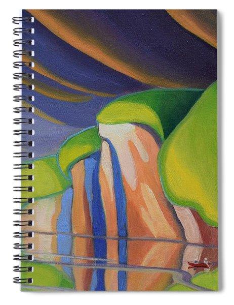Mazinaw Rock I Spiral Notebook