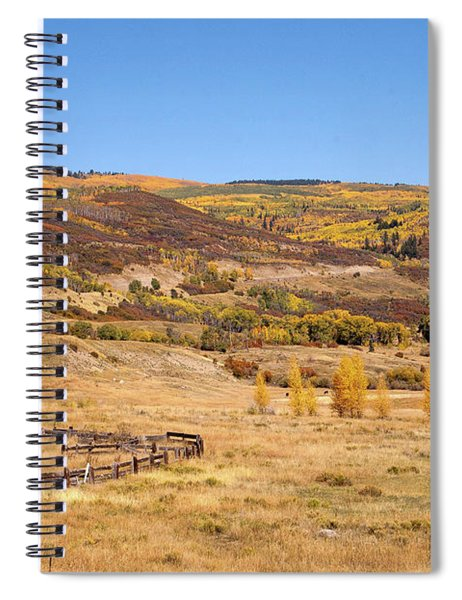 Mcclure Pass Spiral Notebook