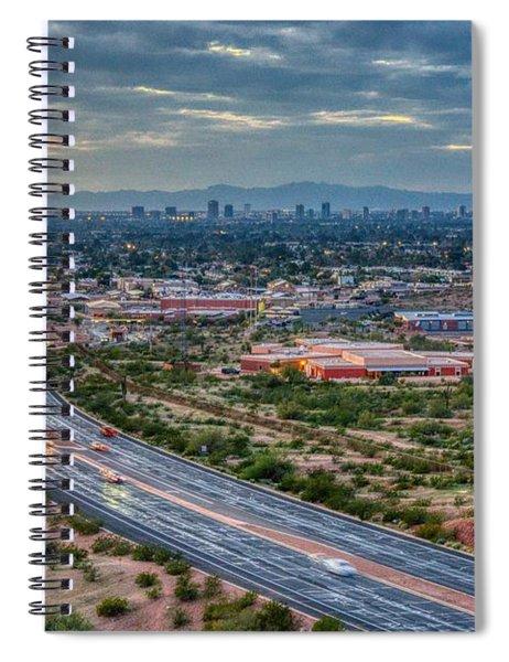 Mcdowell Road Spiral Notebook