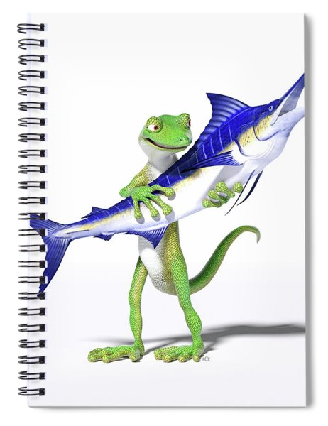 Me And My Marlin Spiral Notebook
