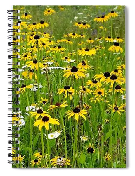 Meadow Flowers 1 Spiral Notebook