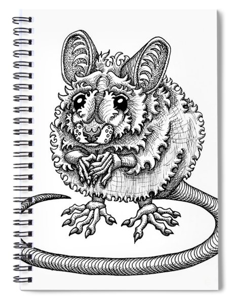 Meadow Jumping Mouse Spiral Notebook