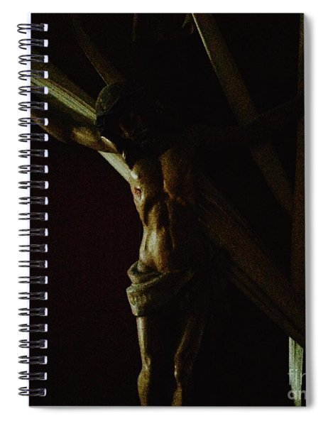 Measuring Up To Jesus Spiral Notebook