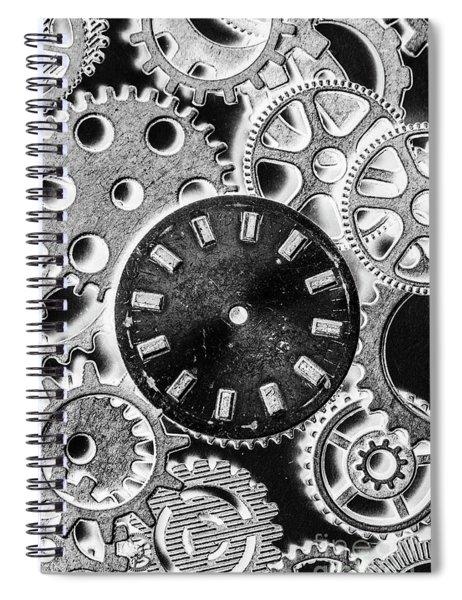 Mechanical Machines Spiral Notebook