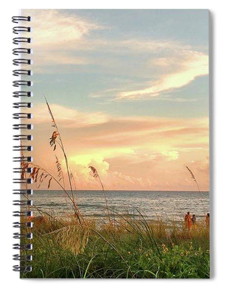 Medeira Beach B Spiral Notebook