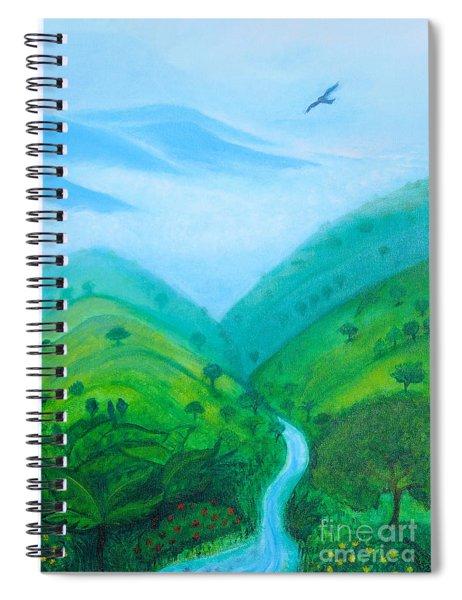Medellin Natural Spiral Notebook by Gabrielle Wilson-Sealy