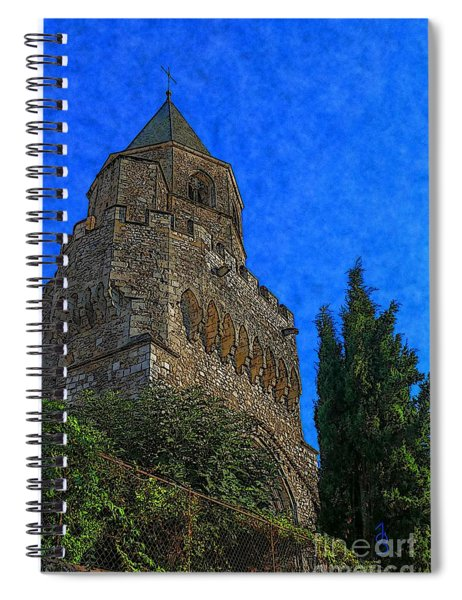 Medieval Bell Tower 5 Spiral Notebook