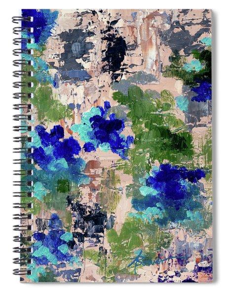Mediterranean Blue Spiral Notebook